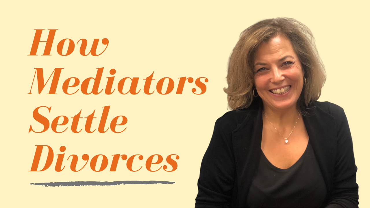 How Do Mediators Settle Divorces?